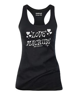 Aesop Originals Women's Love Machine Tank Top S Black