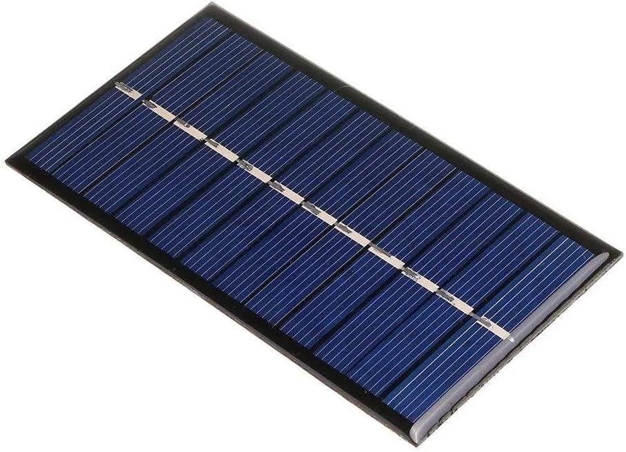 Yi Yi Ma Shi Pin Solar-Panel 6 V 1 Watt Hohe qualit/ät Polykristalline Mini Solar Panel Epoxy Board for DIY Lernen f/ür Au/ßen