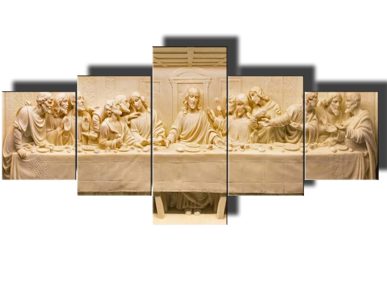 Amazon.com: Last Supper Wall Art Jesus Christ Pictures for Living ...