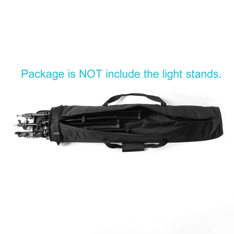 Selens Studio Beleuchtung Zubeh/ör 120*20*17cm LampenstativTasche Padd Zipper Bag f/ür Lampenstativ Studioschirm Stativ