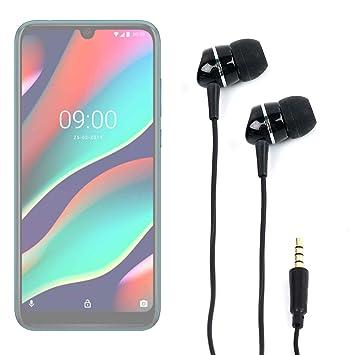 DURAGADGET Auriculares para Smartphone ZTE Blade A5 2019, WIKO ...