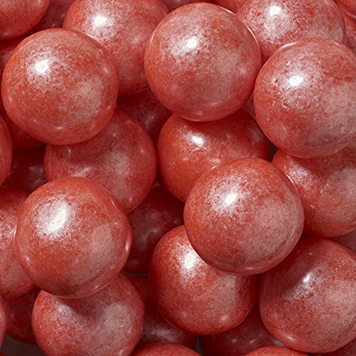 Shimmer Pearlescent Coral 1 Inch Gumballs 2 Pound (Colored Gumballs)