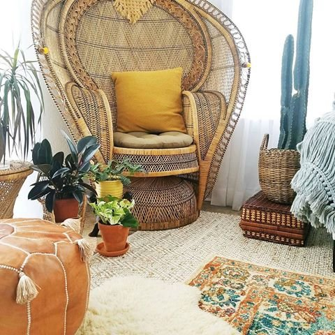 LIMITED EDITION Moroccan Leather Pouf Best offer ,100% handmade Ready to magic your living room! by Moroccan-House (Image #6)