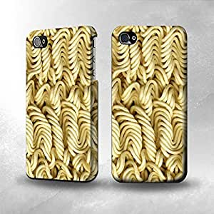Apple iPhone 5 / 5S Case - The Best 3D Full Wrap iPhone Case - Dry Instant Noodle