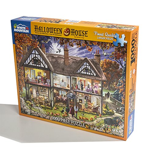Halloween House Jigsaw Puzzle 1000 Piece by White