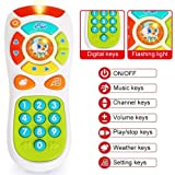 VATOS Baby TV Remote Control Toy, Baby