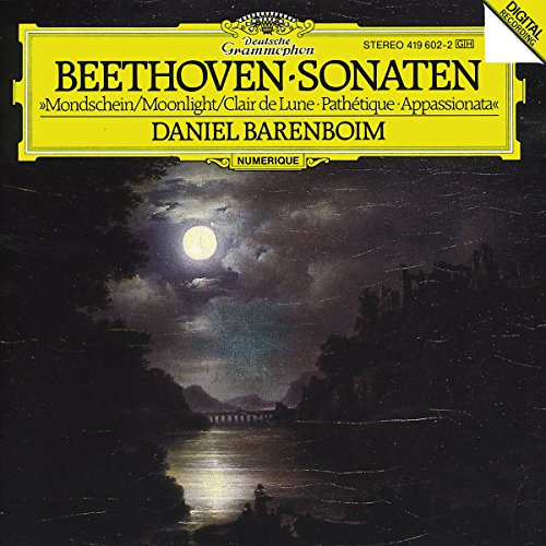 Ludwig van Beethoven - Pathetique, Moonlight, & Appassionata Sonatas (CD)