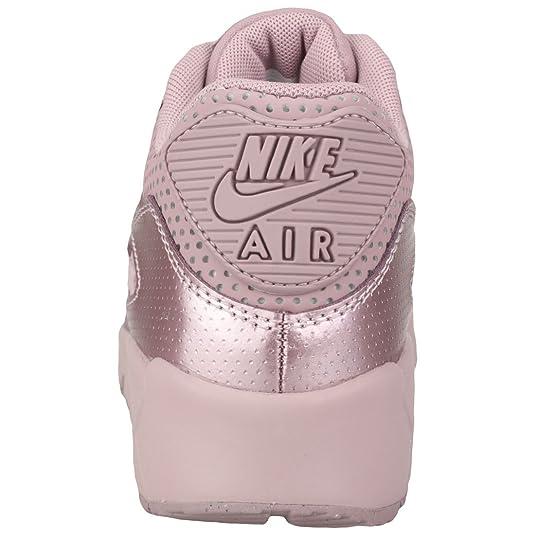 Nike Youth Air Max 90 SE LTR GS Leder Trainer: