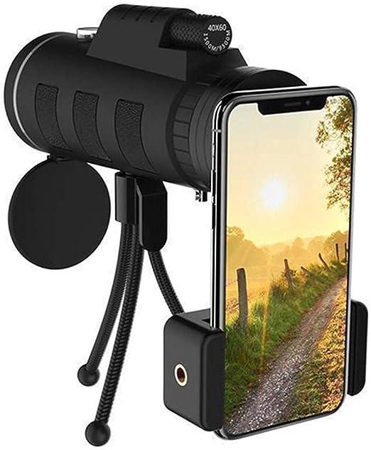 SESE 40X60 Zoom Telescopio Monocular Alcance para Smartphone ...