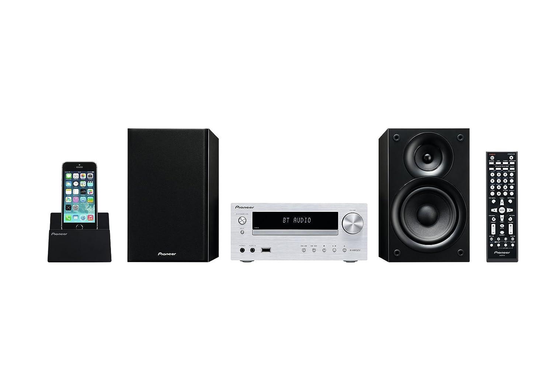 Pioneer X HMV S Microcadena DVD estéreo W compatible iPhone  iPad