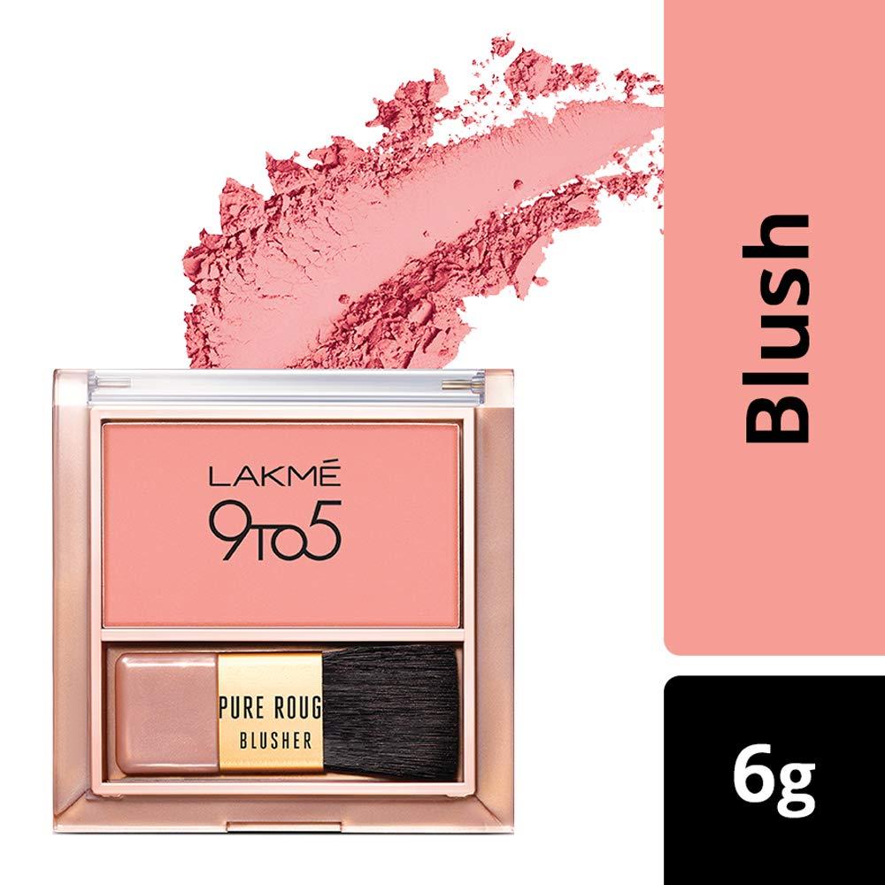Blushes in makeup kit