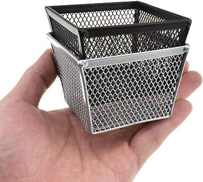 1 pc Paper Clips Organizer Desktop Pins Storage Container Clip Holder for School