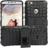 Evonyx Defender Tough Hybrid Armour Shockproof Hard PC with Kick Stand Rugged Back Case Cover for LeTv Le 1s