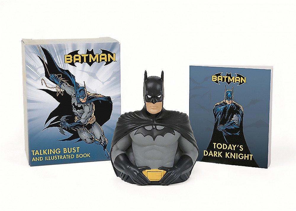 Batman: Talking Bust and Illustrated Book (Miniature Editions) pdf epub