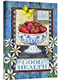Global Gallery GCS-138683-1624-142 ''Wendy Bentley Good Health'' Gallery Wrap Giclee on Canvas Print Wall Art