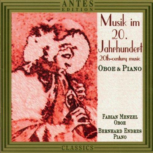 (20TH CENTURY MUSIC FOR OBOE & PIANO / VARIOUS Musik Im 20.Jahrhundert Oboe)