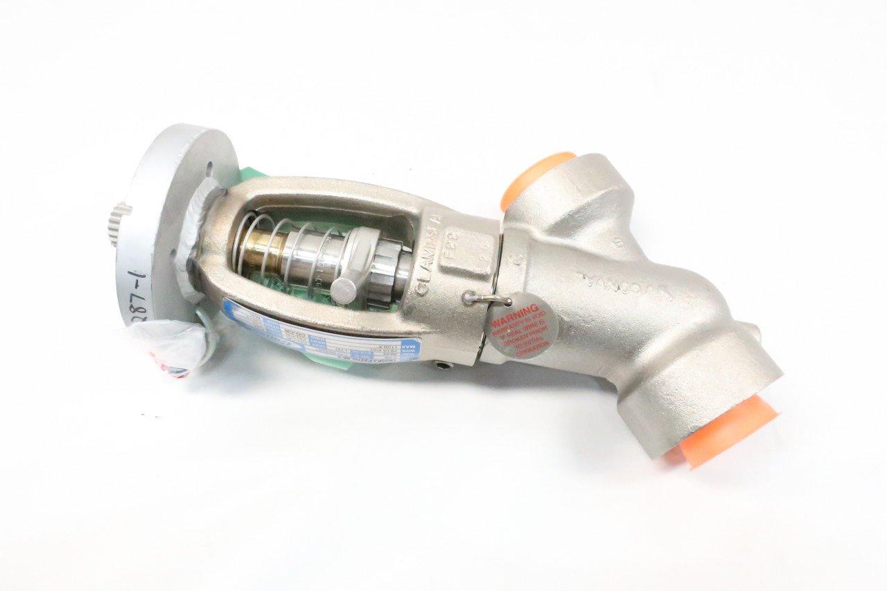 CONVAL 13G2PJ-F227G-56-2 3045 Steel Socket Weld 1-1//2IN Globe Valve D621105