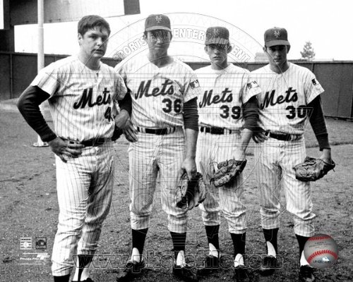 - Tom Seaver, Jerry Koosman, Gary Gentry, Nolan Ryan New York Mets 1969 Photo 8x10