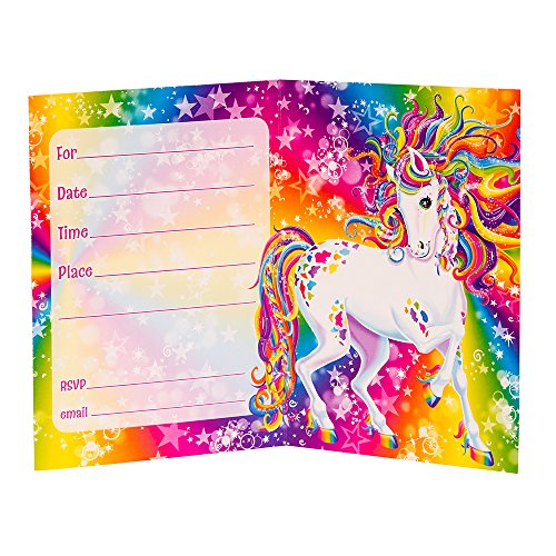 Rainbow Majesty By Lisa Frank Invitations 8ct