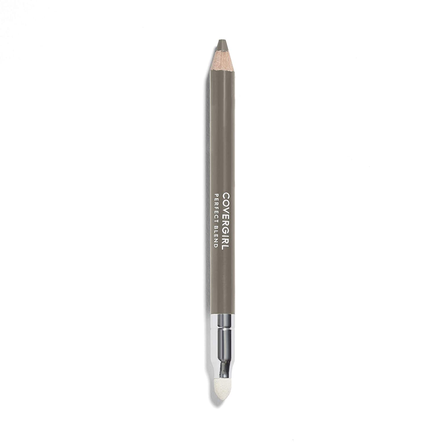 COVERGIRL Perfect Blend Eyeliner Pencil, Smoky Taupe 130 (1 Count) (Packaging May Vary) Eyeliner Pencil with Blending Tip