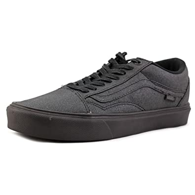 f02ef1eec5 Vans Old Skool Lite Waxed Black Sneakers Mens (7 Mens)