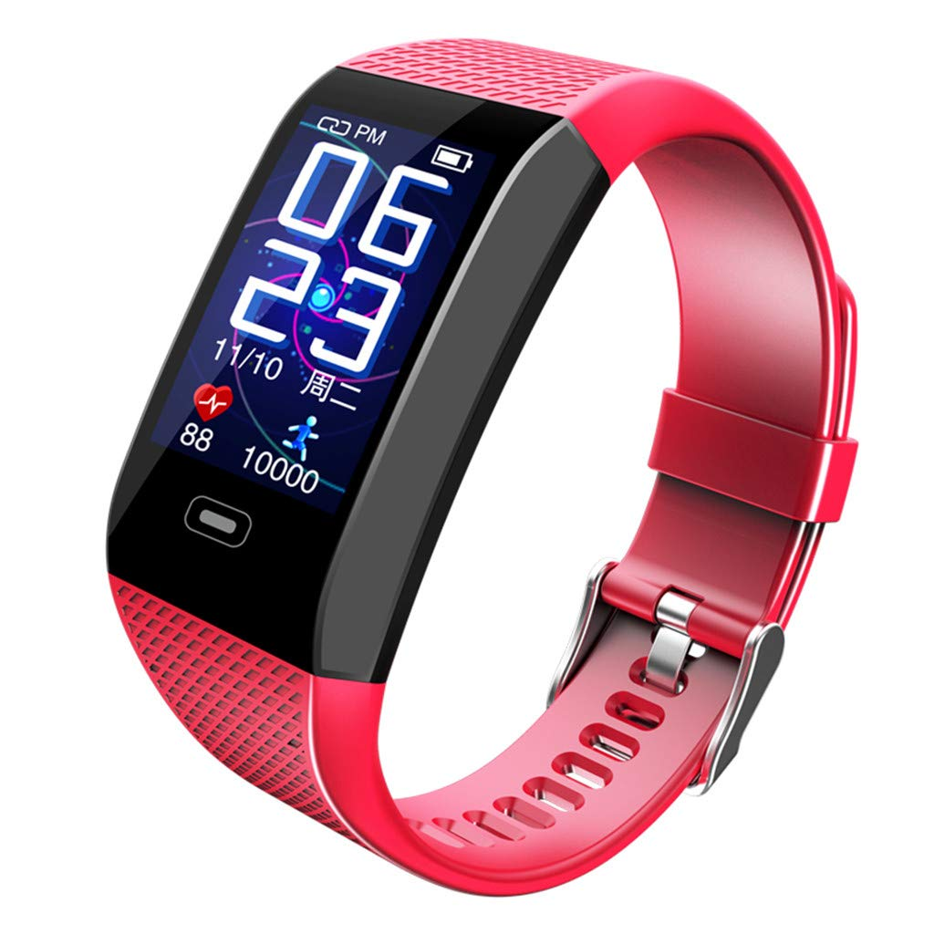 Big Smart Monitor Heart Rate Bracelet Color Bracelet Wristband for iOS Android Watch for Father Men Boys Boyfriend Lover's Birthday