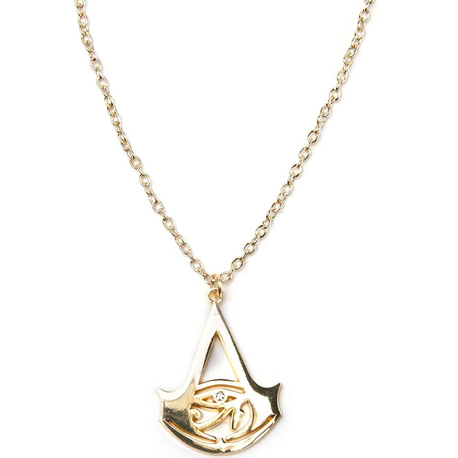 Assassins Creed Origins Necklace Creed Logo Ps4 Xbox Official Assassins Creed Merch