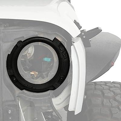 u-Box 7inch Headlight Replacement Mount Bracket Ring (Jeep Wrangler JK 2007-2020): Automotive