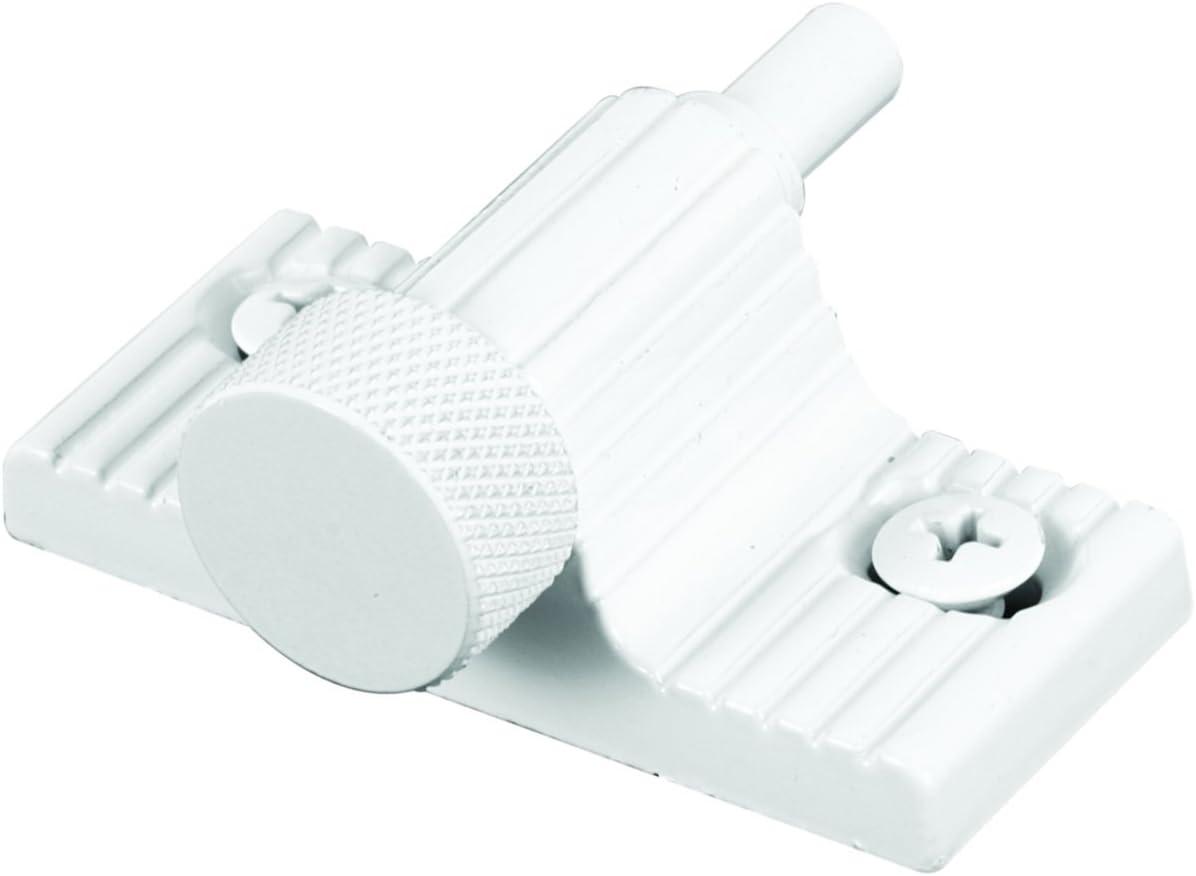 Defender Security U 9850 Lock, 1 in., Zamac Cast Housing w/Aluminum Bolt, White, Twist-In Action