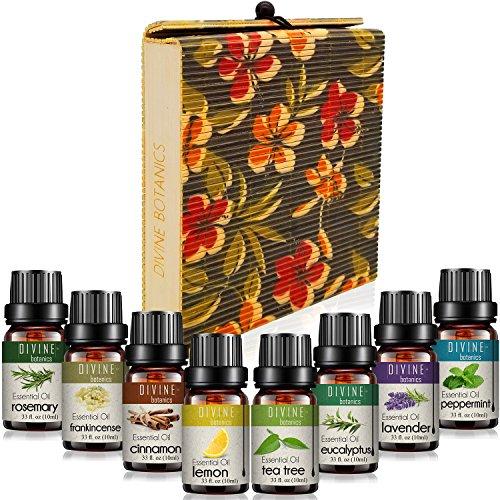 Aromatherapy Essential Oils Set for Diffuser Pure Therapeuti