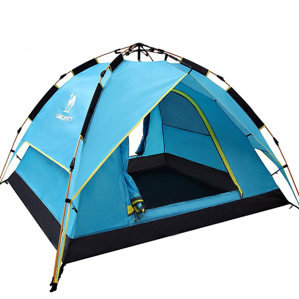 Die vierte Generation des hydraulischen Zelt Zelt im Freien automatische Geschwindigkeits geöffnet 3-4 Personen Zelt regen