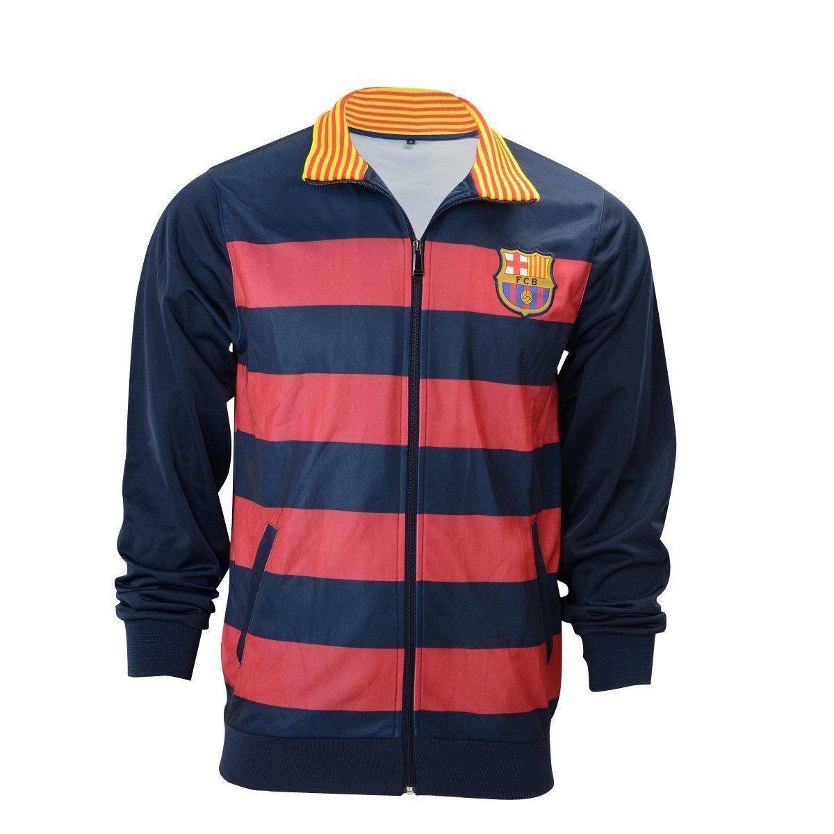FCバルセロナトラックジャケット大人用サッカーメッシ、新しいシーズンサイズSmall B01N1KRHA6