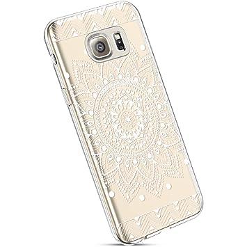 coque galaxy s6 transparente motif