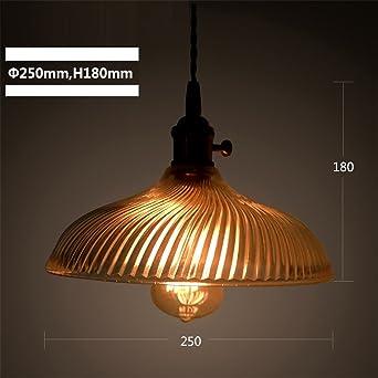Industrial retro personalidad 1 cabeza acuario lámpara ...