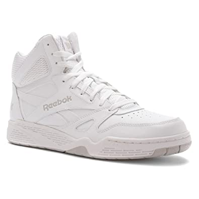 fbfff131f253 Reebok Men's Royal BB4500 HI Shoes (Medium, White Steel, 13.5): Buy ...