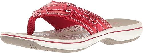amazon clarks flip flops
