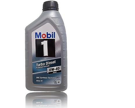 Mobil 1 Turbo Diesel 0 W – 40 1 L antifricción motorenöl 0 W40 ...