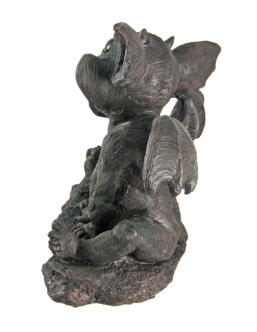 Adorable Gargiggles Laughing Baby Gargoyle Statue