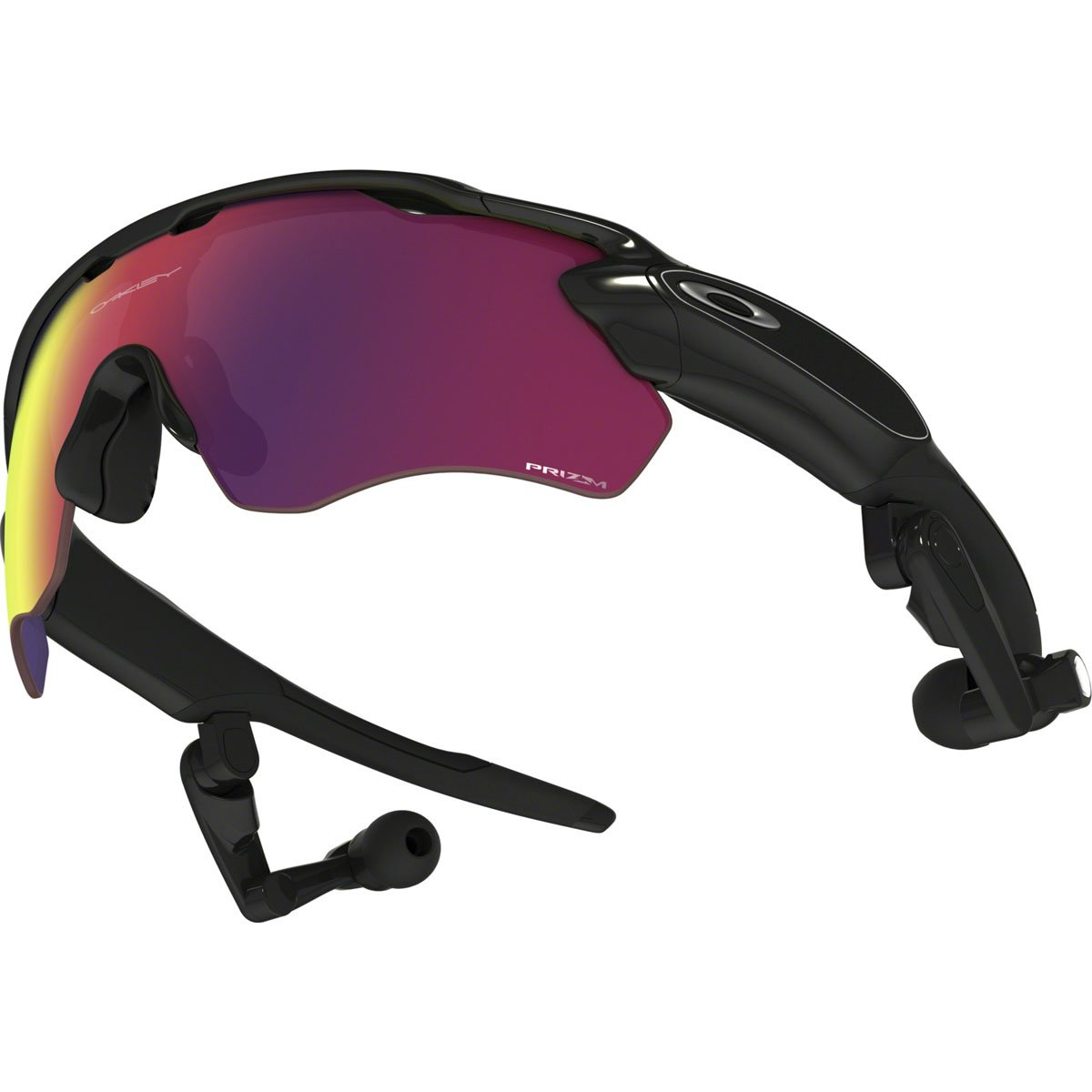 0d2c393bf4df Amazon.com  Oakley Polished Black Prizm Road Radar Pace Sunglasses  Cell  Phones   Accessories
