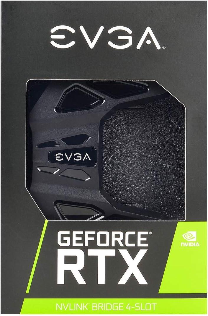 EVGA GeForce RTX NV Link SLI Bridge 4-Slot Spacing RGB LED 100-2W-0030-LR