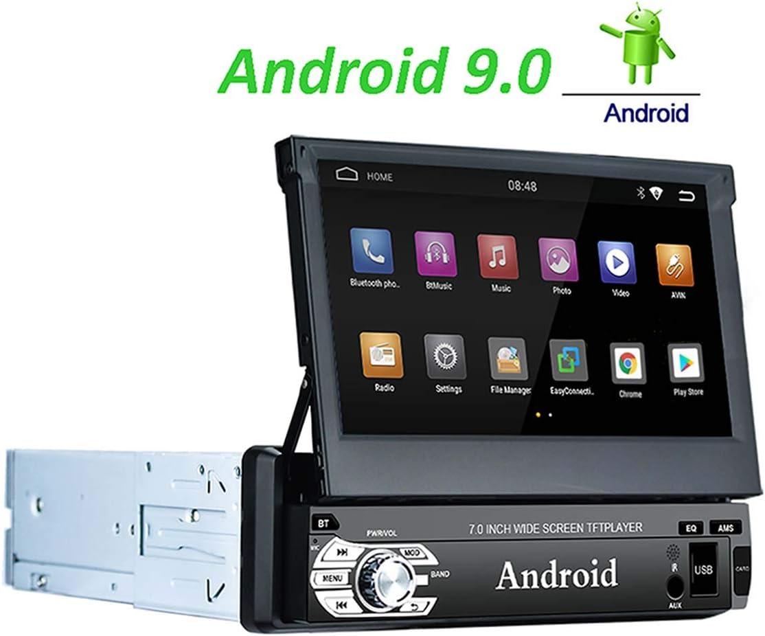 LEXXSON 1 DIN Andorid Auto St/ér/éo Navigation 7 Pouces /écran Tactile GPS Bluetooth autoradio Prise en Charge AM FM RDS WiFi Mains Libres