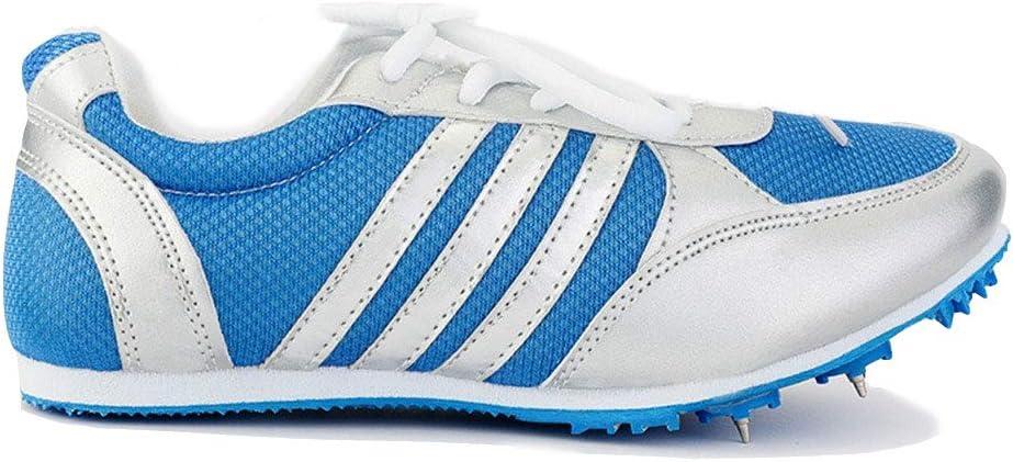 YPPDSD Pistas de Atletismo, Zapatillas de Running Medianas y Cortas para Hombres y Mujeres Competencia de Atletismo al Aire Libre Zapatillas Deportivas Profesionales para uñas,Blueb,39: Amazon.es: Hogar