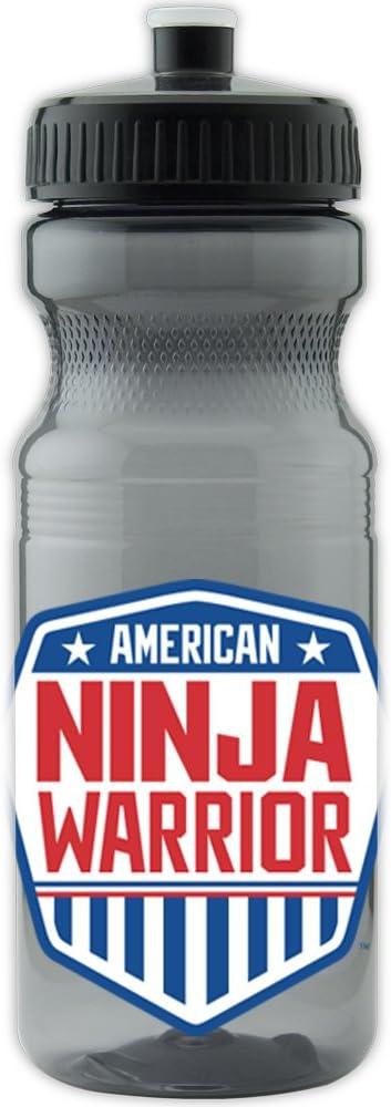 Amazon.com : American Ninja Warrior Plastic Water Bottle ...