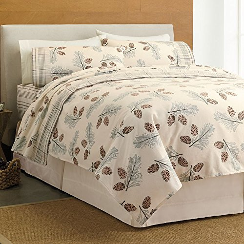 Cuddl Duds Heavyweight 4 Piece Soft Flannel Sheet Set