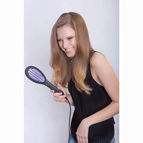 Dafni pelo alisado de Peine Plancha de pelo cepillo: Amazon.es: Salud y cuidado personal