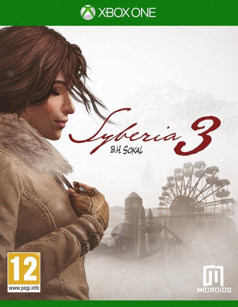 Just for Games Syberia 3, Xbox One Básico Xbox One Inglés vídeo ...