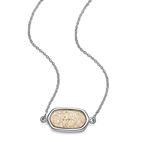 Wishmiss - Collar con colgante de plata, con caja de regalo ...