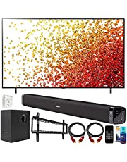 $729 » LG 43NANO75UPA 43 Inch 4K Nanocell TV (2021) Bundle with Deco Gear Home Theater Soundbar with Subwoofer, Wall Mount Accessory Kit, 6FT 4K HDMI 2.0 Cables and More