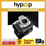 Gariz Genuine Leather XS-CHDFBK Camera Metal Half Case for Nikon DF, Black