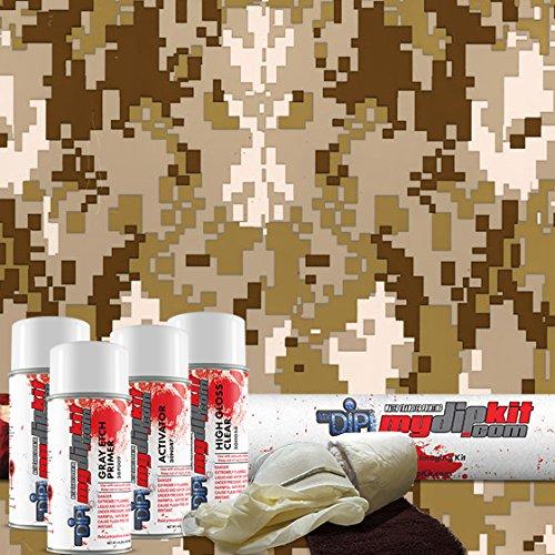 Price comparison product image MyDipKit Desert Digital Camouflage Hydrographics Kit MC-821 - My Dip Kit